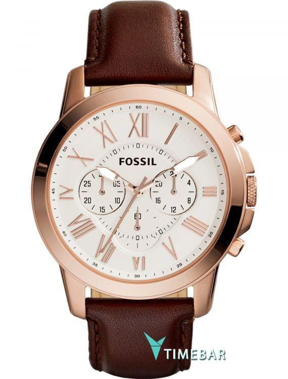 Наручные часы Fossil FS4991, стоимость: 7390 руб.