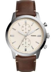 Наручные часы Fossil FS5350, стоимость: 6800 руб.
