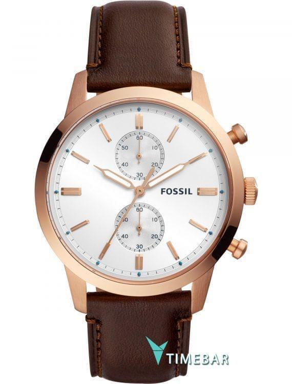 Наручные часы Fossil FS5468, стоимость: 14790 руб.