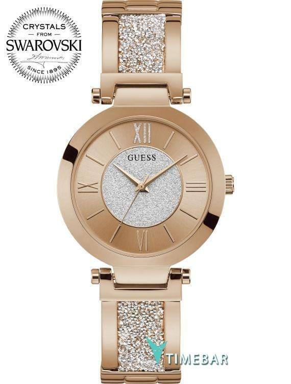 Наручные часы Guess W1288L3, стоимость: 9740 руб.