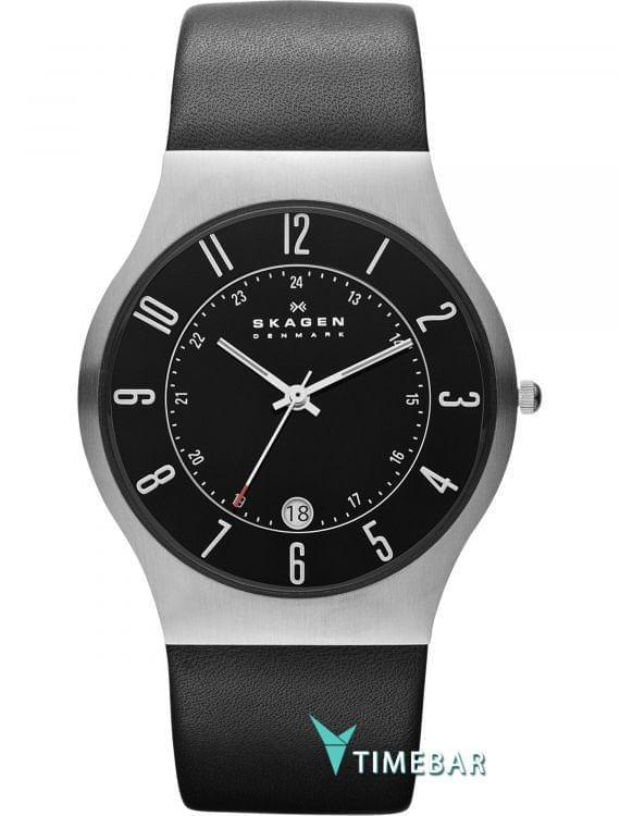 Наручные часы Skagen 233XXLSLB, стоимость: 8040 руб.