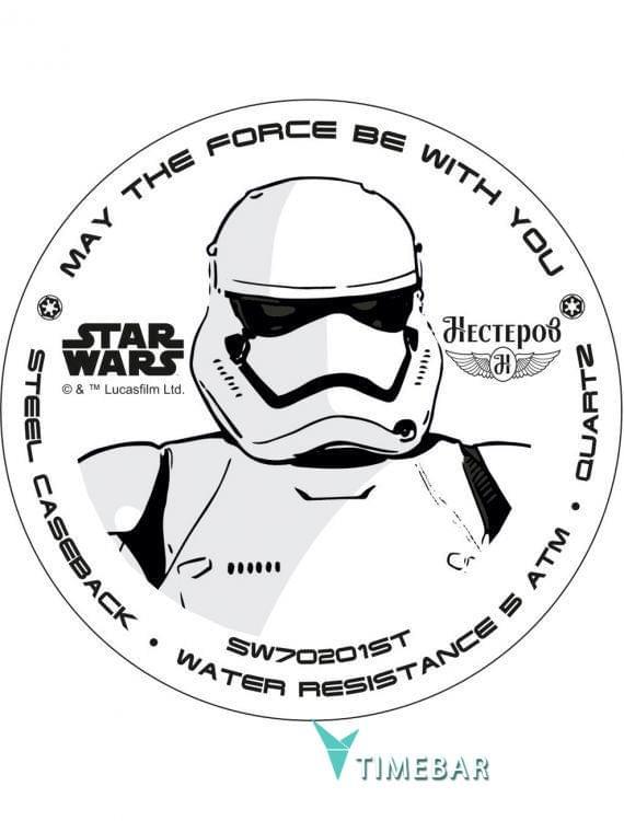 Наручные часы Star Wars by Nesterov SW70201ST, стоимость: 2740 руб.. Фото №2.